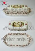 Butter dish with lid